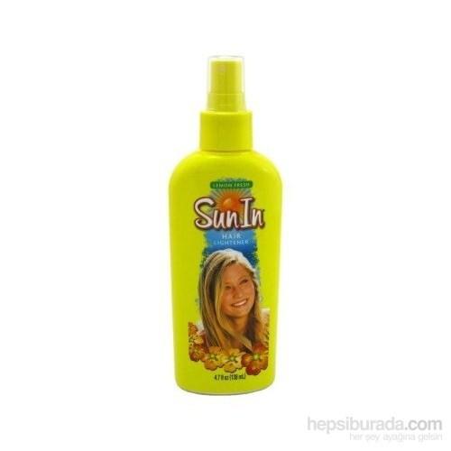 Sun İn Lemon Fresh Saç Açıcı Sprey 138 Ml