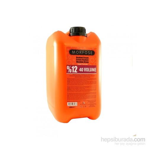 Morfose 40 Vol %12 Oksidan Krem 4 Kg