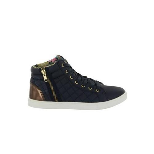 Kinetix 1222385 4F Teresa Lacivert Altın Kadın Günlük Ayakkabı