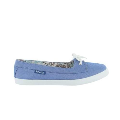Kinetix 1241048 Bambel Mavi Kadın Günlük Ayakkabı