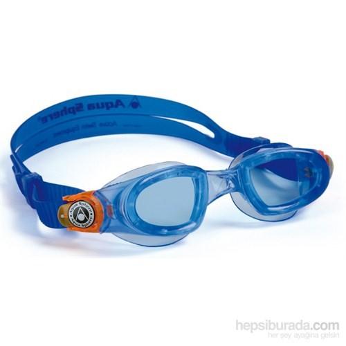 Aqua Sphere Moby Mavi Turuncu Çocuk Yüzücü Gözlüğü
