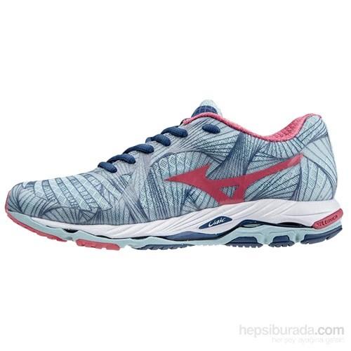 Mizuno Wave Paradox (W) Mavi-Pembe Kadın Spor Ayakkabı