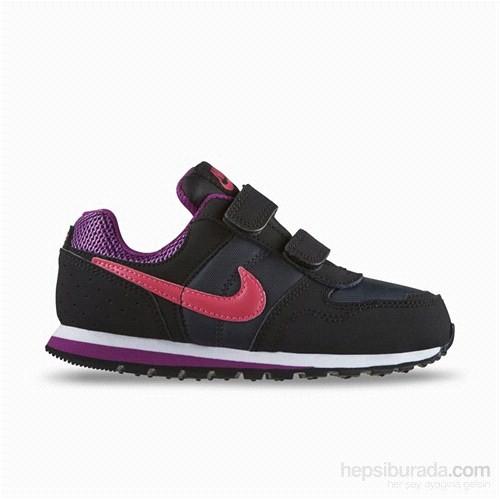 Nike Md Runner Tdv Siyah/Gri/Gümüş Gırls Toddler