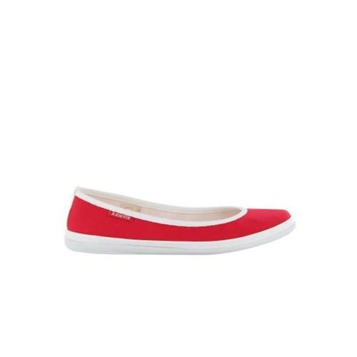 Kinetix 1200275 Silva Kırmızı Beyaz Kadın Günlük Ayakkabı