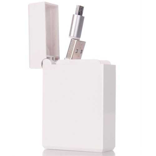 CoverZone Micro Usb Sony Xperia Data Ve Şarj Kablosu Makaralı Kutusunda