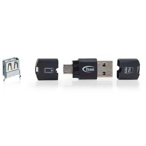 Team M141 MicroSD - MicroUSB / USB 2.0 Dönüştürücü (TMUM141)