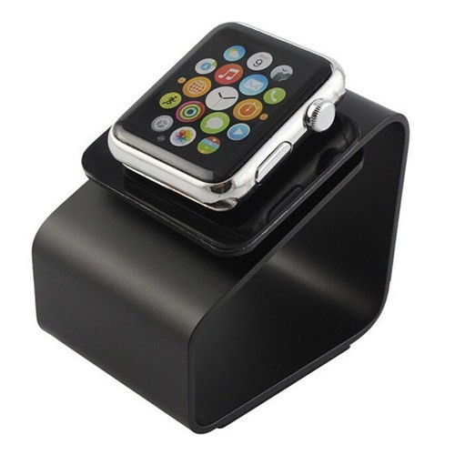 Case 4u Apple Watch Metal Stand Siyah