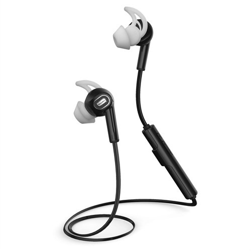 Bluedio M2 Kablosuz Bluetooth Sporcu Kulaklık - Siyah Earbud - SDTM2WHT