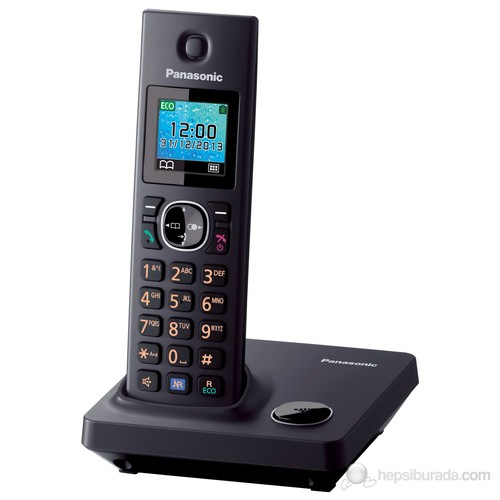 Panasonic Dect Telefon Siyah KX-TG7851