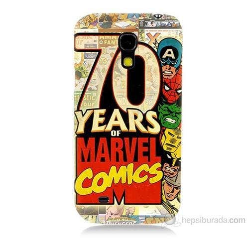 Teknomeg Samsung Galaxy S4 Mini Marvel Karakterleri Baskılı Silikon Kılıf