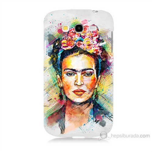 Teknomeg Samsung Galaxy Grand Duos İ9082 Frida Baskılı Silikon Kılıf