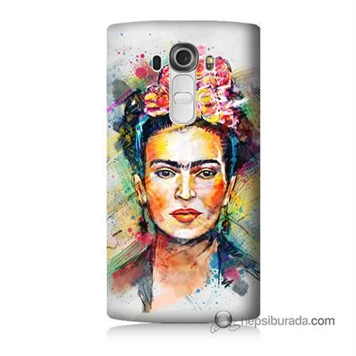 Teknomeg Lg G4 Frida Baskılı Silikon Kılıf