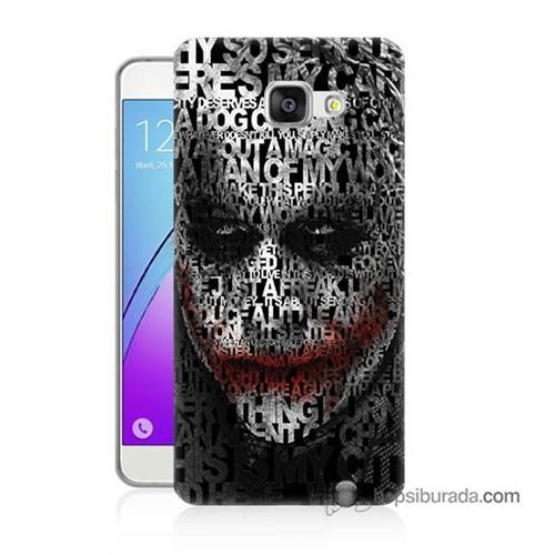 Teknomeg Samsung Galaxy A5 2016 Kapak Kılıf Joker Baskılı Silikon