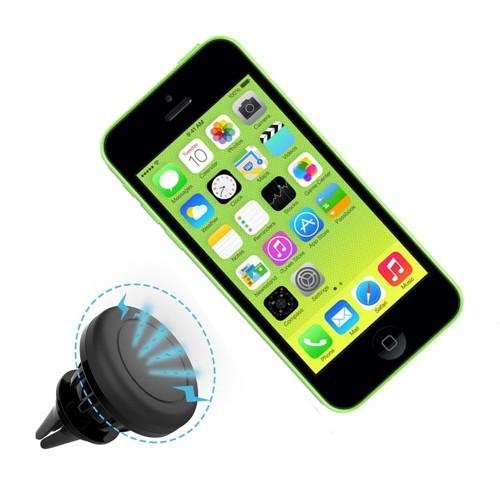 Melefoni İphone 5C Manyetik Araç İçi Telefon Tutucu