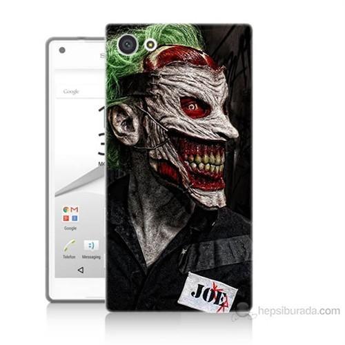 Teknomeg Sony Xperia Z5 Mini Joker Joe Baskılı Silikon Kılıf