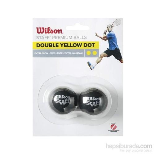 Wilson 2'Li Çift Sarı S Unisex Ekipman