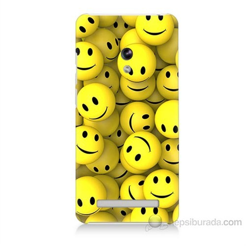 Teknomeg Asus Zenfone 5 Lite Smile Baskılı Silikon Kapak Kılıf