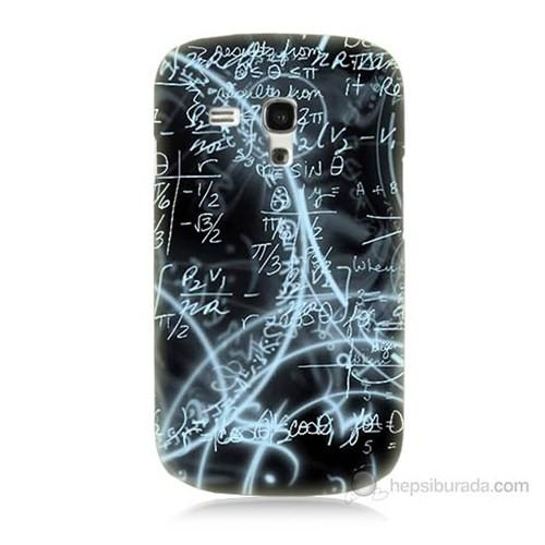 Teknomeg Samsung Galaxy S3 Mini Matematik Baskılı Silikon Kılıf