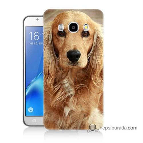 Teknomeg Samsung J5 2016 Kapak Kılıf Köpek Baskılı Silikon