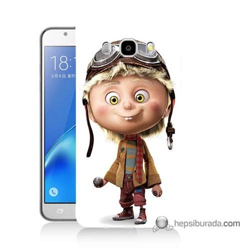 Teknomeg Samsung J5 2016 Kılıf Kapak Çizgi Karakter Baskılı Silikon