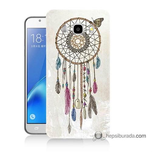 Teknomeg Samsung J5 2016 Kapak Kılıf Dream Catcher Baskılı Silikon