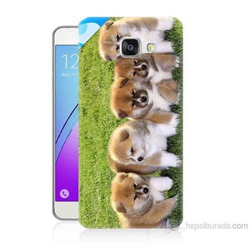 Teknomeg Samsung Galaxy A5 2016 Kapak Kılıf Sevimli Köpek Baskılı Silikon