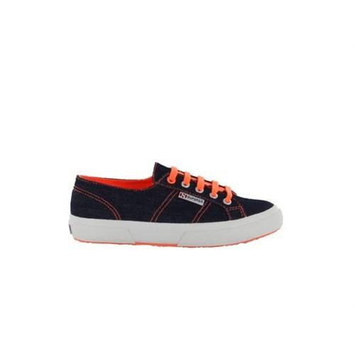 Superga S003310-937 2750 Jnscotu Blue Orange Fluo Kadın Günlük Ayakkabı