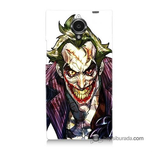 Teknomeg General Mobile Discovery Elite Kapak Kılıf Joker Baskılı Silikon