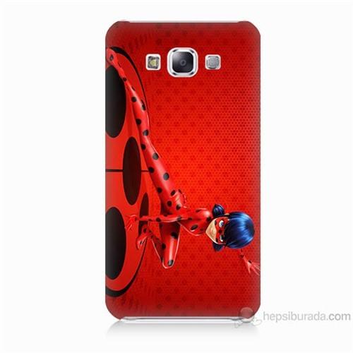 Teknomeg Samsung Galaxy E5 Kapak Kılıf Sevimli Kahraman Baskılı Silikon
