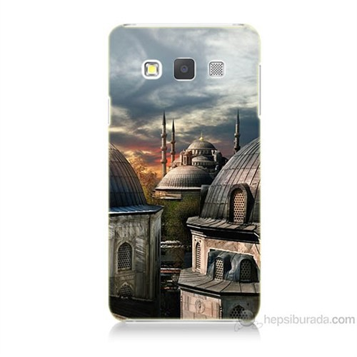 Teknomeg Samsung Galaxy A7 Cami Baskılı Silikon Kılıf
