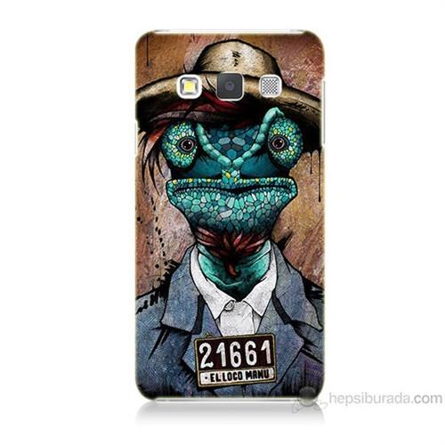 Teknomeg Samsung Galaxy A7 İguana Adam Baskılı Silikon Kılıf