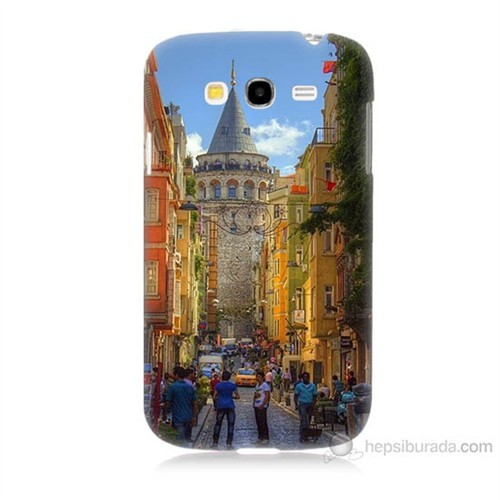 Teknomeg Samsung Galaxy Grand Neo İ9060 Galata Kulesi Baskılı Silikon Kılıf