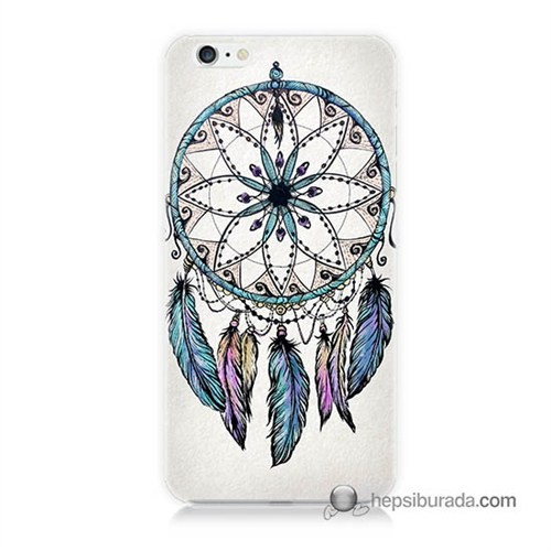 Teknomeg İphone 6 Kapak Kılıf Dream Catcher Baskılı Silikon