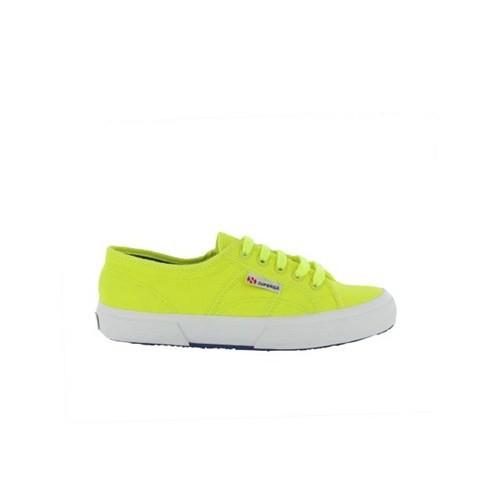 Superga S007Xh0-C71 2750 Cotufluo Yellow Fluo Kadın Günlük Ayakkabı