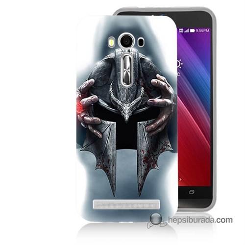 Teknomeg Asus Zenfone Laser 5.0 Kılıf Kapak Assassins Creed Baskılı Silikon
