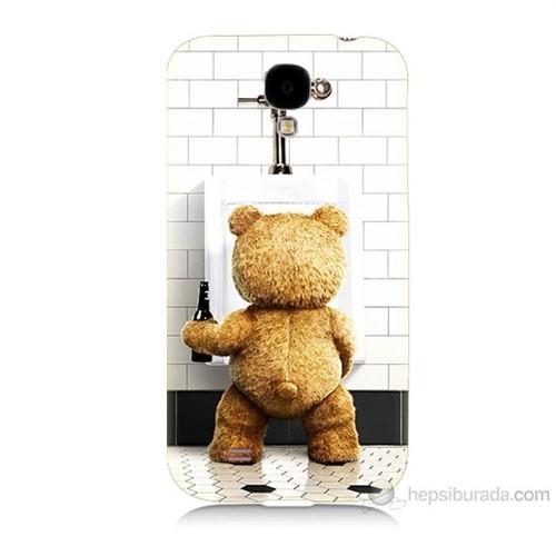 Teknomeg Samsung Galaxy S4 Tedy Bear Baskılı Silikon Kılıf