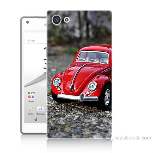 Teknomeg Sony Xperia Z5 Volkswagen Baskılı Silikon Kılıf