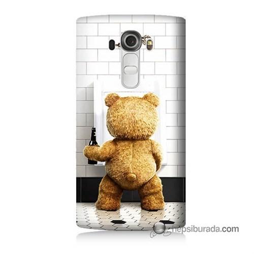 Teknomeg Lg G4 Tedy Bear Baskılı Silikon Kılıf