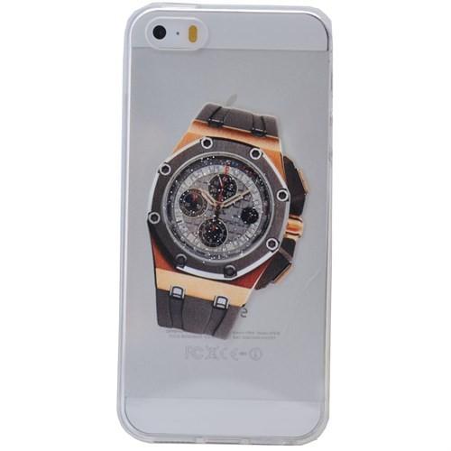 Teleplus İphone 6S Saat Desenli Silikon Kılıf 7