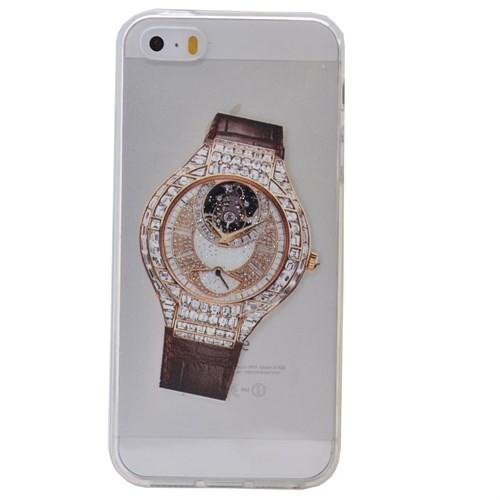 Teleplus İphone 6S Saat Desenli Silikon Kılıf 8