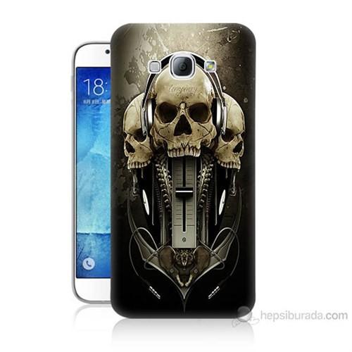 Teknomeg Samsung Galaxy A8 Kapak Kılıf İskeletler Baskılı Silikon