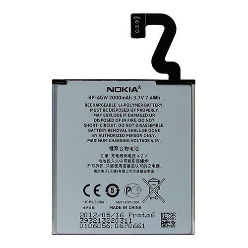 Nokia Lumia 625 Orijinal Pil 2000 Mah Kutusuz