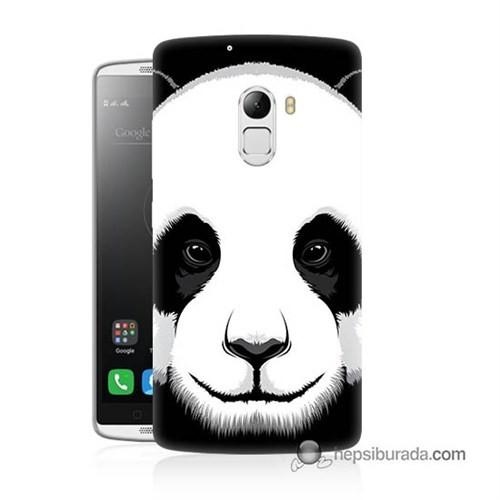 Teknomeg Lenovo A7010 Kapak Kılıf Panda Baskılı Silikon