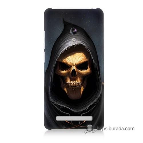 Teknomeg Asus Zenfone 5 Kılıf Kapak Ölüm Meleği Baskılı Silikon