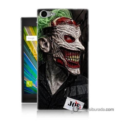 Teknomeg Casper Via V9 Kapak Kılıf Joker Joe Baskılı Silikon