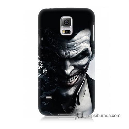Teknomeg Samsung Galaxy S5 Kılıf Kapak Joker Baskılı Silikon