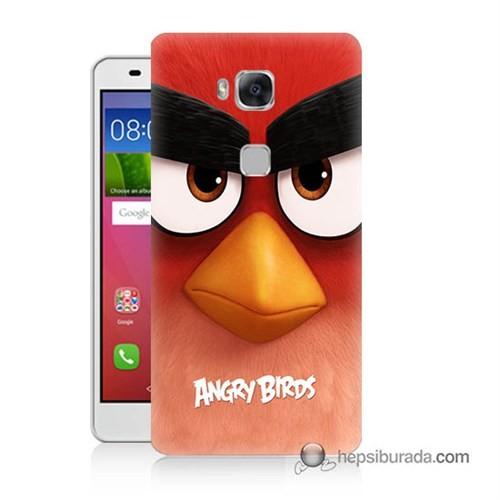 Teknomeg Huawei Gr5 Kapak Kılıf Angry Birds Baskılı Silikon
