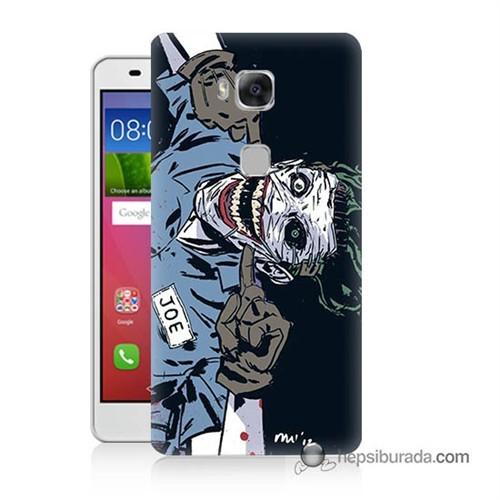 Teknomeg Huawei Gr5 Kapak Kılıf Joe Joker Baskılı Silikon