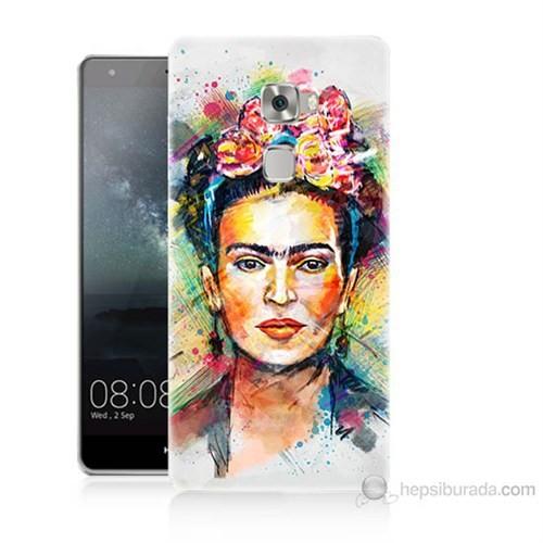 Teknomeg Huawei Ascend Mate S Frida Baskılı Silikon Kılıf