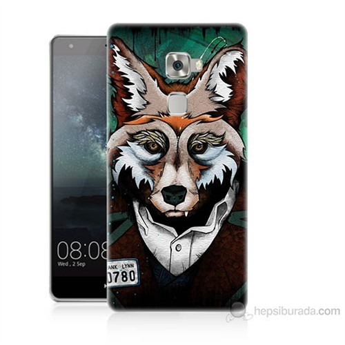 Teknomeg Huawei Ascend Mate S Bad Wolf Baskılı Silikon Kılıf
